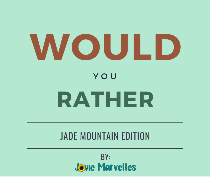 WOULD YOU RATHER | 006
